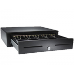 APG VB320-BL1616 Printer Driven Cash Drawer, MultiPRO, Cable Req 16 in. - 16 in.