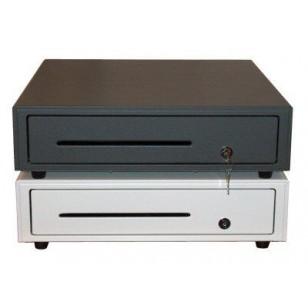 Posiflex CR6310B Printer Driven Cash Drawer, 16.85 in. - 18.11 in., Black