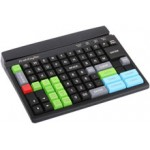 Preh MCI84BU, Point Of Sale Keyboard, 84, Program & Relegendable, USB, Black