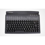Preh MCI128BU,128 Point of Sale Keyboard, Program. & Relegendable, USB, Black
