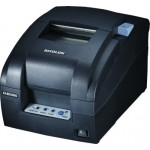 Bixolon SRP275IIIAR-BLK Impact Printer, Serial/USB Interface, Tear Bar, Black
