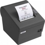 Epson TM-T88V-GRY Thermal Receipt Printer, Serial+USB Interface, A/C, PS Included, EDG