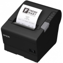 Epson TM-T88VI-S01 Thermal Printer, Ser/Eth/USB Interface, mPOS, DHCP, AC, PS Included, Black