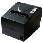 SNBC (Biyang), BTPR880NP-SG Thermal POS Printer, Serial/USB Interface, A/C, Grey, Cable Included