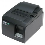 Star TSP143L-ETH-GRY  Thermal Printer, Ethernet Interface, Autocutter, Grey, PS and Cable Included