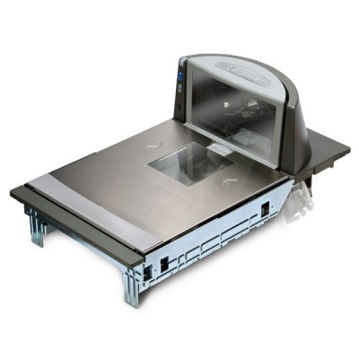 Datalogic Magellan 8300 Barcode Scanner, Scale, Long Platter
