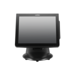PartnerTech QM-150C, 15 in. LCD Touch Monitor, Projected Capacitive, USB I/F, VESA, Black