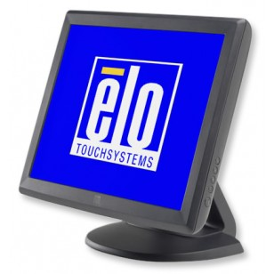 ELO E700813,1515L,15 in. Touchmonitor, Series 1000, Intellitouch, Serial/USB, Gray