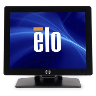 ELO E144246, 1517L, 15 in. LCD, Series 1000, LED Back light, AccuTouch, Zero-Bezel, USB/Serial, Black