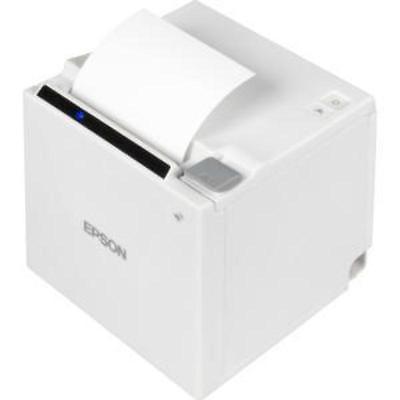 Epson TM-M30-011 Thermal Receipt Printer, Eth /USB/Bluetooth Interface,  80mm, Vert/Horz Exit, White